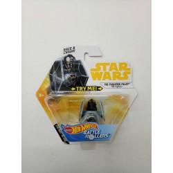 Hot Wheels Star Wars TIE Fighter Pilot - TIE Fighter Battle Rollers