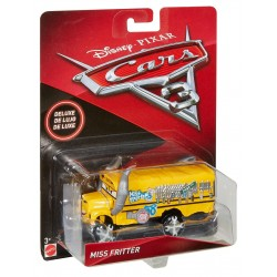 Disney Pixar Cars Deluxe Miss Fritter Vehicle