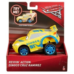 Disney Pixar Cars Revvin' Action - Dinoco Cruz Ramirez