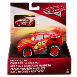 Disney Pixar Cars Revvin' Action - Rust-Eze Lightning McQueen