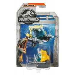 Jurassic World Matchbox Deep-Dive Submarine Vehicle