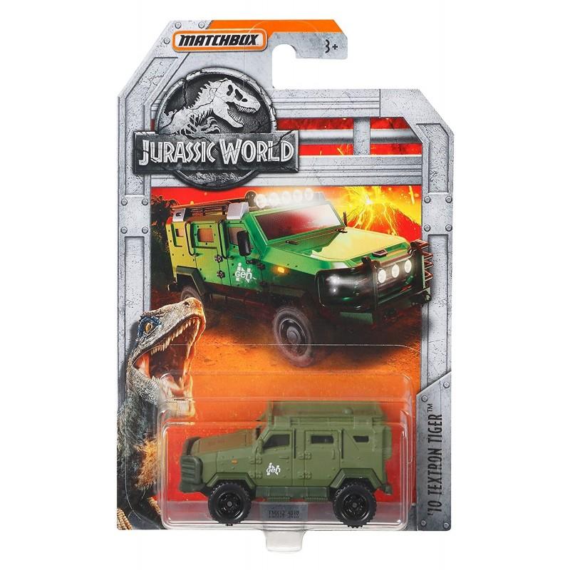 Jurassic World Matchbox 10 Textron Tiger (Green) Vehicle