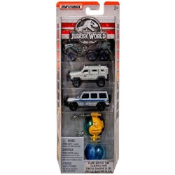 Jurassic World Matchbox Island Transport Team 5-Pack