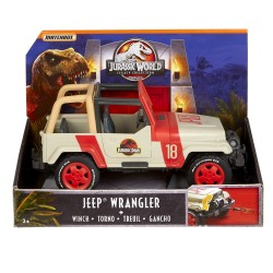 Jurassic World Matchbox Legacy Collection Jeep Wrangler with Winch