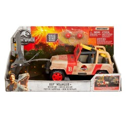 Jurassic World Matchbox Jeep Wrangler with Rescue Net