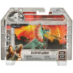 Jurassic World Attack Pack Dilophosaurus