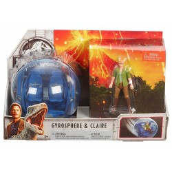 Jurassic World Story Pack Gyrosphere & Claire
