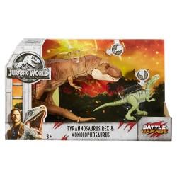 Jurassic World Tyrannosaurus Rex & Monolophosaurus
