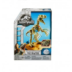 Jurassic World Stem Fossil Strikers Velociraptor