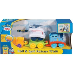 Thomas & Friends My First Roll and Spin Rescue Train