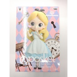Banpresto Q Posket Disney Character: Alice Thinking Time (Pastel Version)