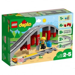 LEGO Duplo 10872 Train Bridge and Tracks