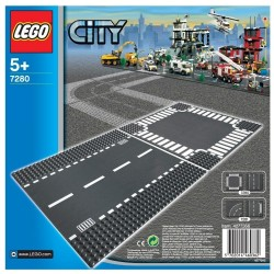 LEGO City 7280 Straight and Crossroad Plates