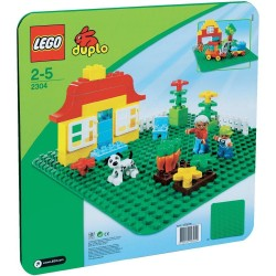 LEGO Duplo 2304 Duplo Large Green Building Plate