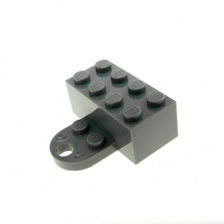 LEGO Dark Grey Minifigure Magnet