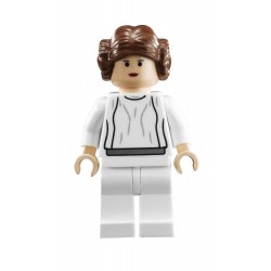 Princess Leia (White Dress, Light Flesh)