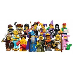 LEGO Collectible Minifigures 71007 Series 12 Complete Set of 16