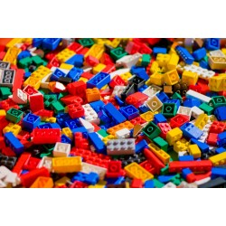 LEGO Random Used Loose Bricks (500g + 50g Free)