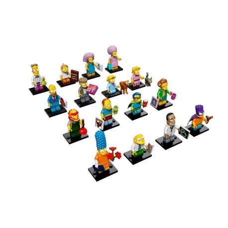 LEGO Collectible Minifigures 71009 The Simpsons Series 2 Complete Set of 16
