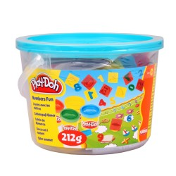 Play Doh Mini Fun with Numbers Bucket