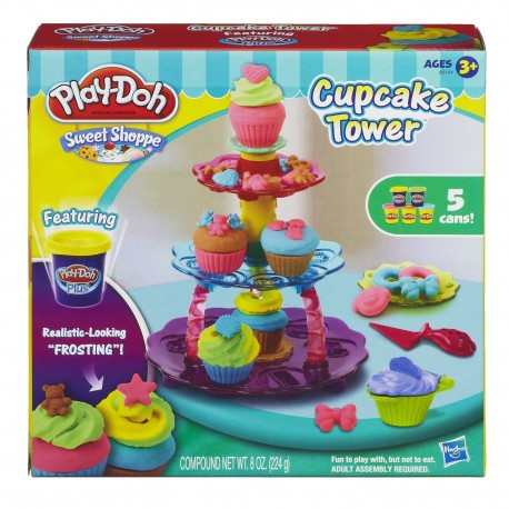 Play Doh Sweet Shoppe Cupcake Tower
