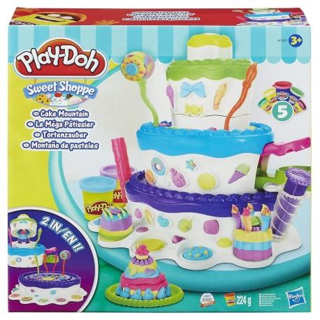 Play Doh Sweet Shoppe Cake Mountain Playset