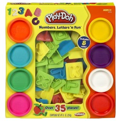 Play Doh Numbers Letters n Fun