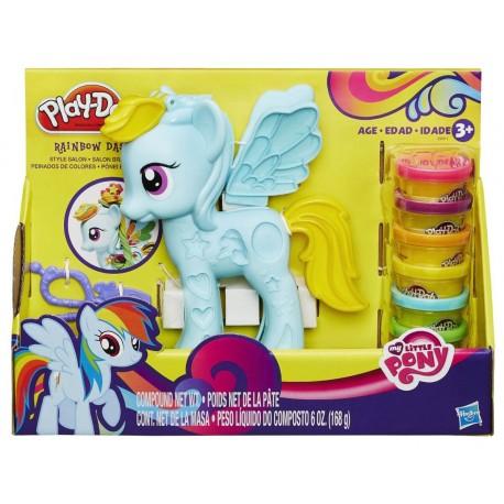 Play-Doh My Little Pony Rainbow Dash Style Salon