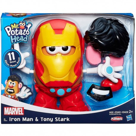 Playskool Mr. Potato Head Marvel Classic Scale Tony Stark Iron Man
