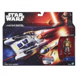 Star Wars The Force Awakens 3.75-inch Vehicle Y-Wing Scout Bomber
