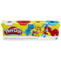 Play Doh 4-Pack - Pack Of Classic Colors
