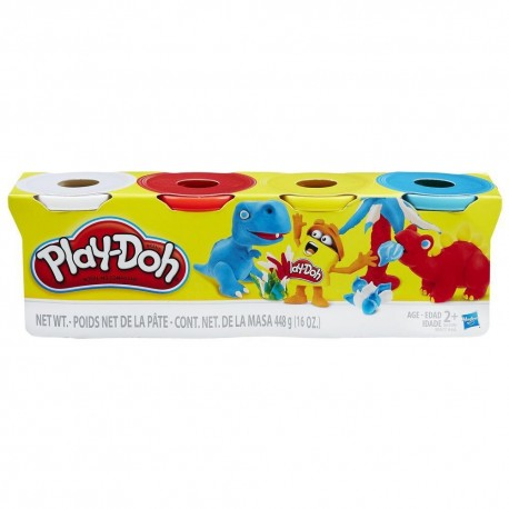 Play-Doh 4-Pack - Pack Of Classic Colors