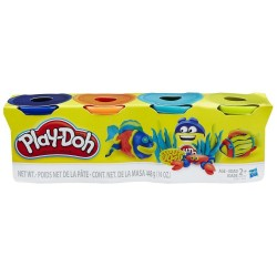 Play Doh 4-Pack - Pack Of Bright Colors
