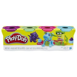 Play-Doh 4-Pack - Pack Of Bold Colors