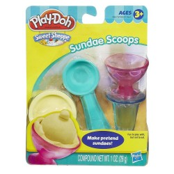 Play Doh Sweet Shoppe Sundae Scoops Set