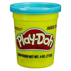 Play Doh Single Can - Teal Green