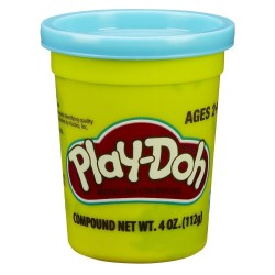 Play Doh Single Can - Bright Blue