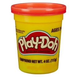 Play Doh Single Can - Bright Red 2.0