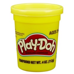 Play Doh Single Can - Bright Yellow