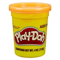 Play Doh Single Can - Orange