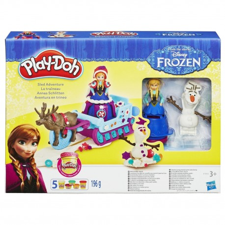 Play Doh Sled Adventure Featuring Disney's Frozen
