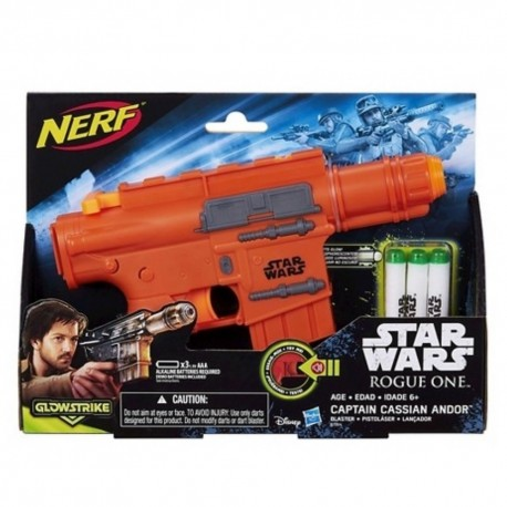 Star Wars Rogue One Nerf Captain Cassian Ando Blaster