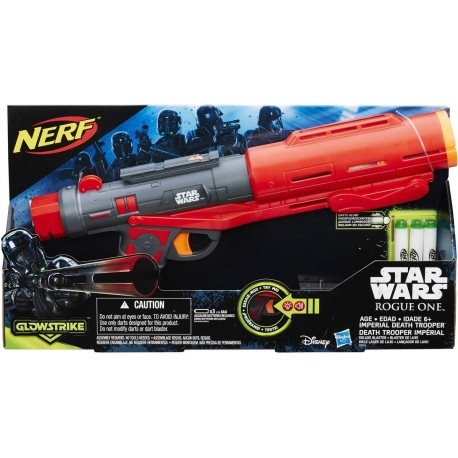 Star Wars Rogue One Nerf Imperial Death Trooper Deluxe Blaster