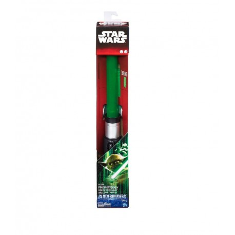 Star Wars Episode II Bladebuilders Yoda Electronic Lightsaber