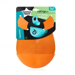 Tommee Tippee Roll And Go Bib (Orange)