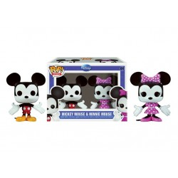 Funko Mini Pop! Disney 01: 2-PK Mickey & Minnie Mouse
