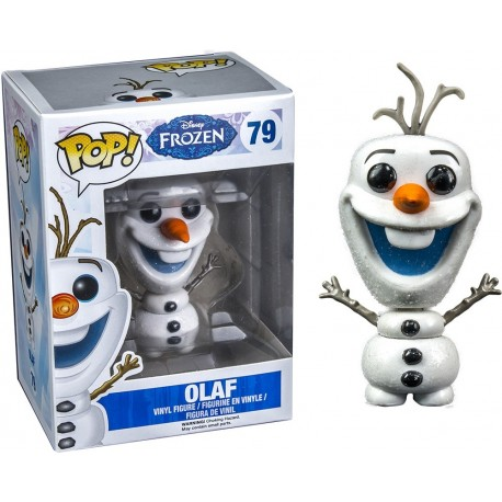 Funko Pop! Disney 79: Frozen - NYCC Toy Tokyo Asia Exclusive Flocked Olaf (Rare)
