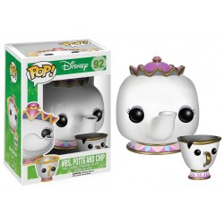 Funko Pop! Disney 92: Mrs. Potts And Chip