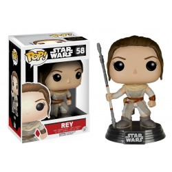Funko Pop! Star Wars 58: Episode VII The Force Awakens - Rey