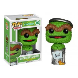 Funko Pop! TV 03: Sesame Street - Oscar The Grouch
